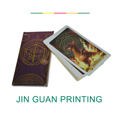 Custom quality paper playing cards poker cards